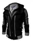 cheap Men's Shirts-Men's Plus Size Long Sleeve Hoodie Hooded