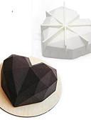 baratos Relógios da Moda-Ferramentas bakeware Silicone Anti-Aderente / Férias / 3D Bolo / Chocolate Molde 1pç