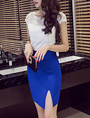 cheap Women's Skirts-Women's Party Bodycon Skirts - Solid Colored