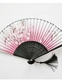 billige Vifter og parasoller-Fest / aften / Avslappet Materiale Bryllupsdekorasjoner Strand Tema / Hage Tema / Vegas Tema / Asiatisk Tema / Blomster Tema / Sommerfugl