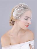 cheap Wedding Veils-One-tier Cut Edge Wedding Wedding Veil Wedding Veils 53 Lace Princess