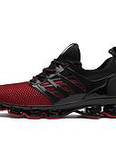 ieftine Polo Bărbați-Bărbați Pantofi de noutate Piele de Căprioară / Tul Primăvară / Vară Adidași de Atletism Alergare Negru / Negru / Roșu / Negru / Verde