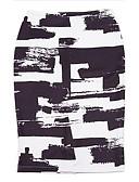 abordables Faldas para Mujer-Mujer Tallas Grandes Chic de Calle Noche Faldas Floral