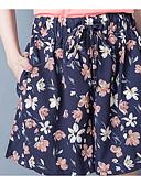 baratos Calças Femininas-Mulheres Cintura Alta Solto Shorts Calças Estampado