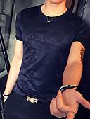 ieftine Maieu & Tricouri Bărbați-Bărbați Rotund Tricou Șic Stradă - Culoare Camuflaj Stil modern / Manșon scurt / Zvelt