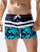 cheap Men's Swimwear-Men's Sporty Bottoms - Floral Board Shorts / 1 Piece / Super Sexy