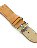 cheap Watch Accessories-PU Leather Watch Band Strap for Brown 24cm / 9 Inches 2cm / 0.8 Inches