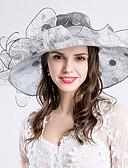 baratos Vestidos para Madrinhas-Capacete-Casamento Ocasião Especial Festa/Noite Casual Chapéus 1 Peça