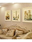 olcso Férfi fürdőnadrág-Bekeretezett szett Landscape Olajfestmény Wall Art, PVC Anyag a Frame lakberendezési frame Art Hálószoba