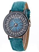baratos Quartz-Mulheres Relógio Esportivo / Relógio de Pulso Criativo / Relógio Casual / Legal Lega Banda Amuleto / Luxo / Casual Azul / Vermelho / Verde