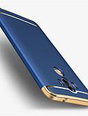 olcso Blúz-Case Kompatibilitás Huawei Galvanizálás Fekete tok Tömör szín Kemény PC mert Mate 9 Mate 9 Pro Huawei