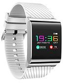 baratos Relógio Esportivo-Pulseira inteligente para iOS / Android Monitor de Batimento Cardíaco / Medição de Pressão Sanguínea / Calorias Queimadas / Suspensão Longa / Tela de toque Podômetro / Aviso de Chamada / Monitor de