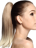 cheap Women's Dresses-Ponytails Hair Piece Hair Extension Straight