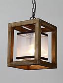 baratos Aço Inoxidável-Geométrica Luzes Pingente Luz Descendente - Estilo Mini, 110-120V / 220-240V Lâmpada Não Incluída / 10-15㎡ / E26 / E27