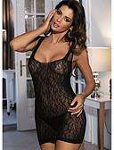 ieftine Cămașă-Pentru femei Sexy Ultra Sexy Pijamale Jacquard