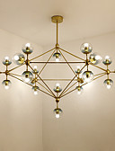 preiswerte Abendkleider-Sputnik Kronleuchter Raumbeleuchtung - Ministil, 110-120V / 220-240V Glühbirne nicht inklusive / 60㎡ oder mehr / E26 / E27