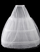 cheap Historical & Vintage Costumes-Classic Lolita / Lolita Women's Petticoat Cosplay White Floor Length / Long Length