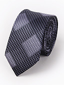 cheap Fashion Belts-Men's Polyester Necktie - Jacquard