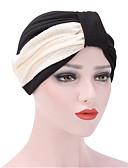 abordables Sombreros de mujer-Mujer Color puro, Algodón Sombrero Floppy - Sombrero / Flor Retazos / Invierno