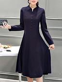 preiswerte Herren Pullover-Damen Übergrössen Ausgehen Hülle Kleid - Druck Midi Ständer
