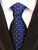 cheap Men's Ties & Bow Ties-Men's Work / Basic Necktie - Houndstooth