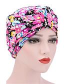 baratos Cintos de Moda-Mulheres Chapéu / Flor Algodão, Floppy - Floral / Estampado / Inverno