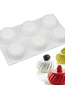 cheap Men's Shirts-Bakeware tools Silica Gel Everyday Use Cake Molds 1pc