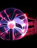 cheap Women's Pants & Leggings-Magic Plasma Ball kids room Party decor Electrostatic Sphere Light Gift Lightning Crystal Luminaria Touch Plasma Ball Lamp Electrostatic Sphere Light