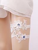 cheap Wedding Veils-Elastic Leg Warmers Party Sexy Wedding Wedding Garter with Rhinestone Appliques Garters