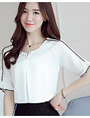 preiswerte Bluse-Damen Solide Bluse