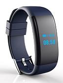 baratos Relógio Esportivo-DF30 Pulseira inteligente Android iOS Bluetooth Esportivo Impermeável Monitor de Batimento Cardíaco Medição de Pressão Sanguínea Monitor de Sono Relogio Despertador Calendário / Tela de toque