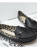 cheap Women's Blouses-Women's Shoes Oxford / PU(Polyurethane) Spring Comfort Flats White / Black / Yellow