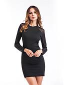 cheap Women's Dresses-Women's Bodycon Dress - Solid Colored High Rise Mini