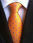 cheap Men's Ties & Bow Ties-Men's Work / Basic Necktie - Polka Dot