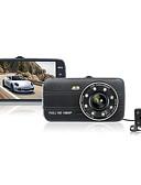 abordables Vestidos de Noche-h17 1080p / Full HD 1920 x 1080 HD DVR del coche 170 Grados Gran angular 4 pulgada TFT Dash Cam con Visión nocturna / G-Sensor / Modo