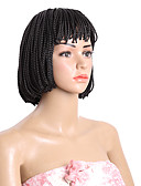cheap Evening Dresses-Synthetic Wig Bob Synthetic Hair Wig Short Capless Brown Natural Black