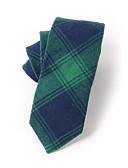 abordables Corbatas y Pajaritas para Hombre-Hombre Algodón Corbata - Para el Cuello Houndstooth