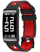 halpa Muu tapaus-Smart rannerengas HM68 varten iOS / Android Sykemittari / Verenpaineen mittaus / Poltetut kalorit / Pitkä valmiustila / Kosketusnäyttö Pulse Tracker / Askelmittari / Puhelumuistutus / Activity