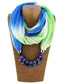 cheap Fashion Scarves-Women's Street chic Infinity Scarf - Print