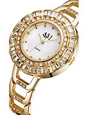 cheap Quartz Watches-ASJ Women's Wrist Watch Japanese Casual Watch Alloy Band Charm / Fashion Silver / Gold / Stainless Steel