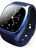 tanie Zegarki luksusowe-m26 bluetooth nadgarstek smartwatch wodoodporny smartwatch zadzwoń muzyka krokomierz fitness tracker dla Androida inteligentny telefon