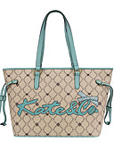 お買い得  レディース ビキニ&スイムウェア-女性用 バッグ PVC ショルダーバッグ サッシ / リボン キャメル