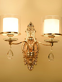 cheap Men's Exotic Underwear-Ecolight™ Crystal / Traditional / Classic Wall Lamps & Sconces Metal Wall Light 220-240V 40W
