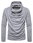 cheap Men's Tees & Tank Tops-Men's Street chic T-shirt - Solid Colored