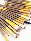 halpa Naisten takit ja trenssitakit-20kpl Makeup Harjat ammattilainen Brush Lavastus / Poskipunasivellin / Luomivärisivellin Sivellin nylonista Kannettava / All-In-1 /