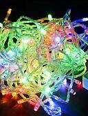 baratos Roupas de Meninas-30m Cordões de Luzes 300SMD LEDs Branco Quente / RGB / Branco Impermeável / Cores Variáveis 220 V / IP44
