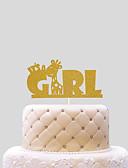 رخيصةأون زينة الكيك-كعكة توبر المولود الجديد قلوب ورقة عيد ميلاد مع 1 حقيبة PVC