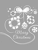 olcso Kvarc-Ablakfólia és matricák Dekoráció Karácsony Art Deco PVC / Βινύλιο Ablak matrica / Nappali