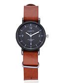 cheap Quartz Watches-Men's / Women's Wrist Watch Chinese Casual Watch / Cool Leather Band Casual / Bohemian / Fashion Black / Brown / Khaki