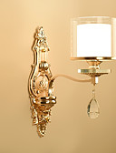 cheap Men's Exotic Underwear-Ecolight™ Crystal Wall Lamps & Sconces Metal Wall Light 220-240V 40 W / E14